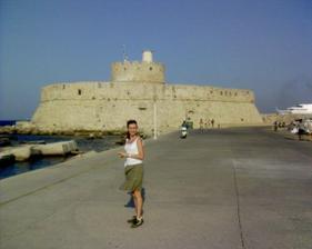 prístav Rhodos, tu vraj stál bájny Rhodsky kolos :-)