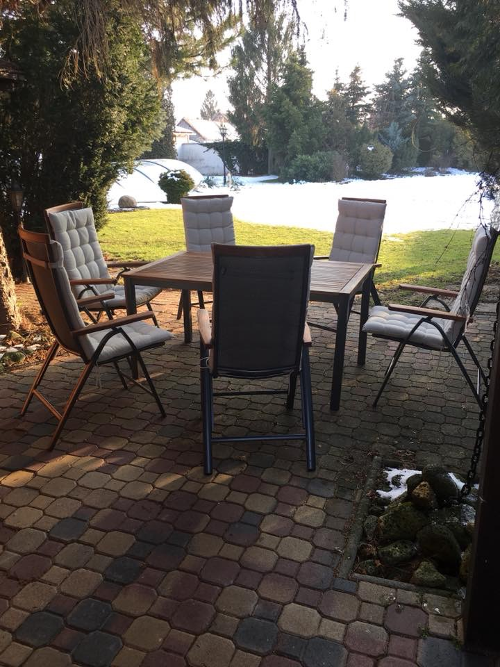 záhradný nábytok pre 6 osôb  - Obrázok č. 1