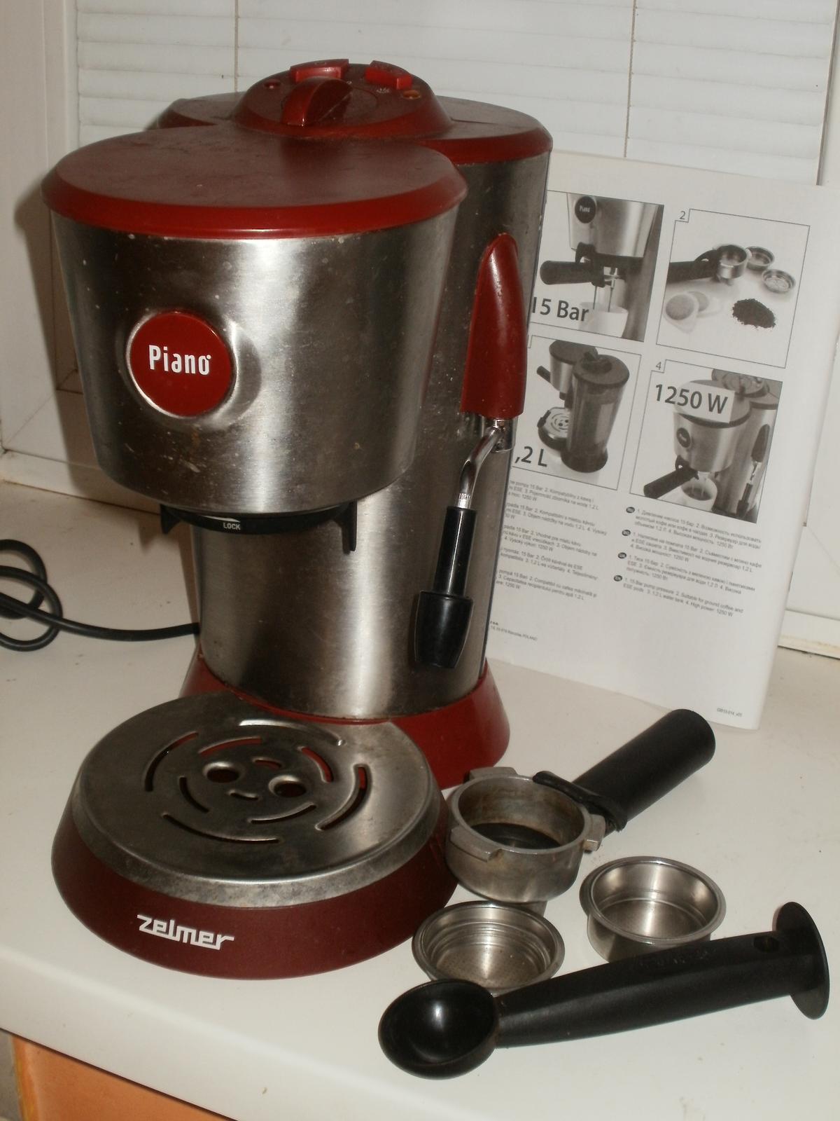 Pákové espresso Zelmer - Obrázok č. 1