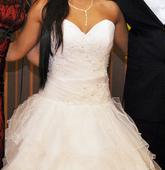 svadobné šaty za 200eur prípadne dohoda, 36