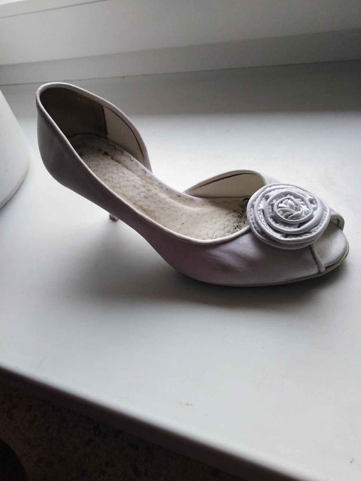 Darujem svadobné topanky  - Obrázok č. 1