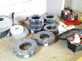 Príprava materiálu potrebného na jeden domček