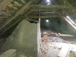 zostatok z komina ktoreho sucast bola aj udiaren