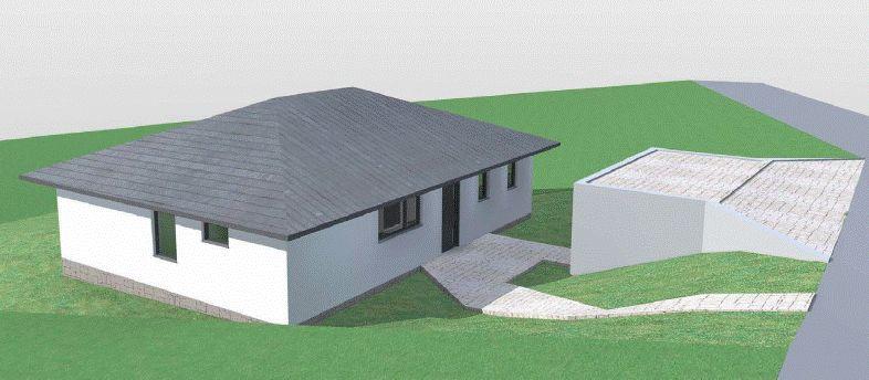 Stavba našeho bungalovu ve svahu - Obrázek č. 1
