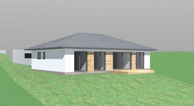 Stavba našeho bungalovu ve svahu - Obrázek č. 2