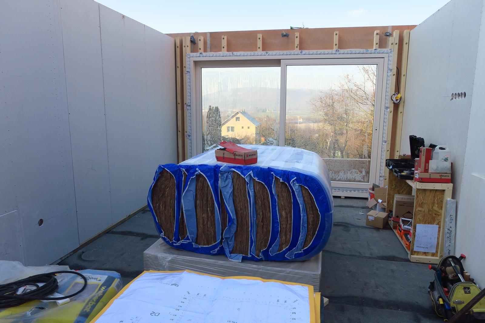 Stavba našeho bungalovu ve svahu - Obrázek č. 43