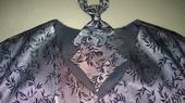 Tmavostrieborná svadobná vesta, 60