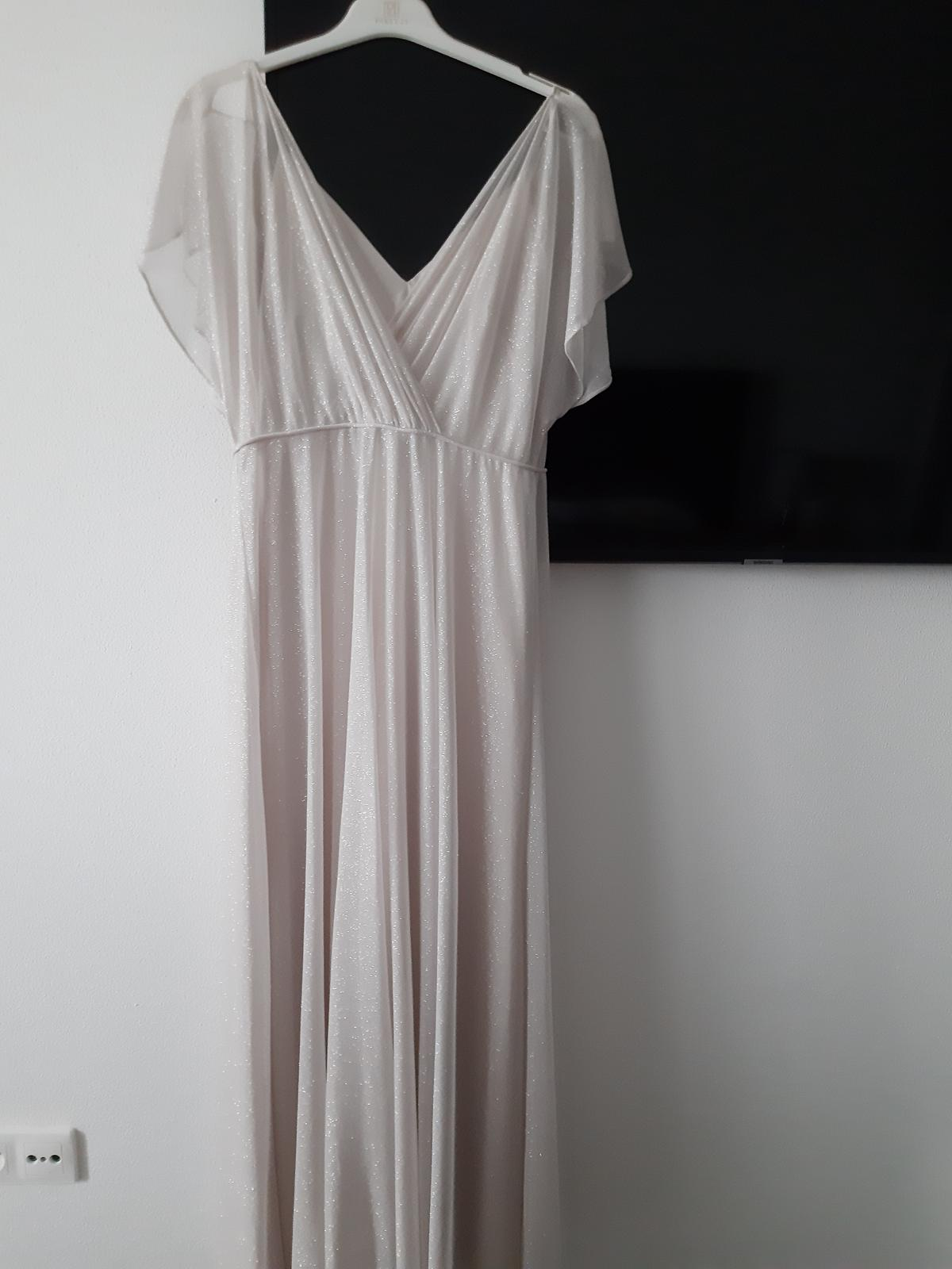 popolnočné trblietavé šaty - Obrázok č. 1