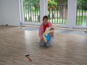 nová podlaha ..:)