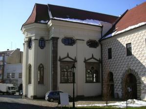 Kaple sv.Maří Magdalény v JH