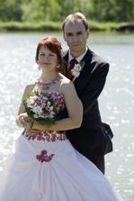 novomanželé Kubíkovi