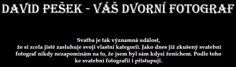 Fotograf zarezervován :)