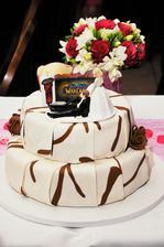 Dozdobila jsem dort podle ženichovi oblíbené hry