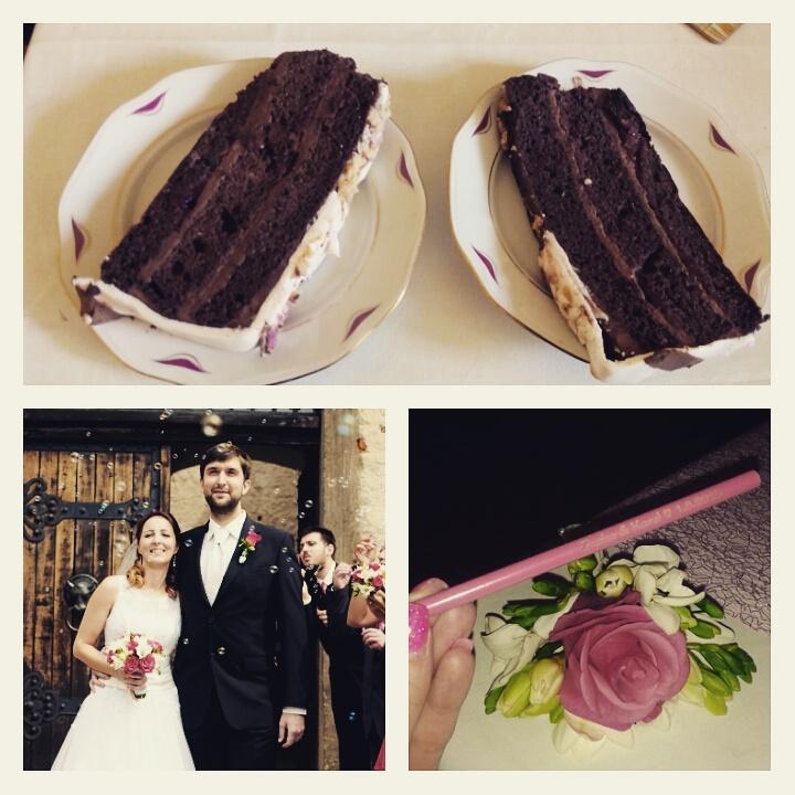 Včera pvní výročí od svatby...4120 společných dnů :-* - Obrázek č. 1