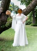 ľahké svadobné šaty, 38