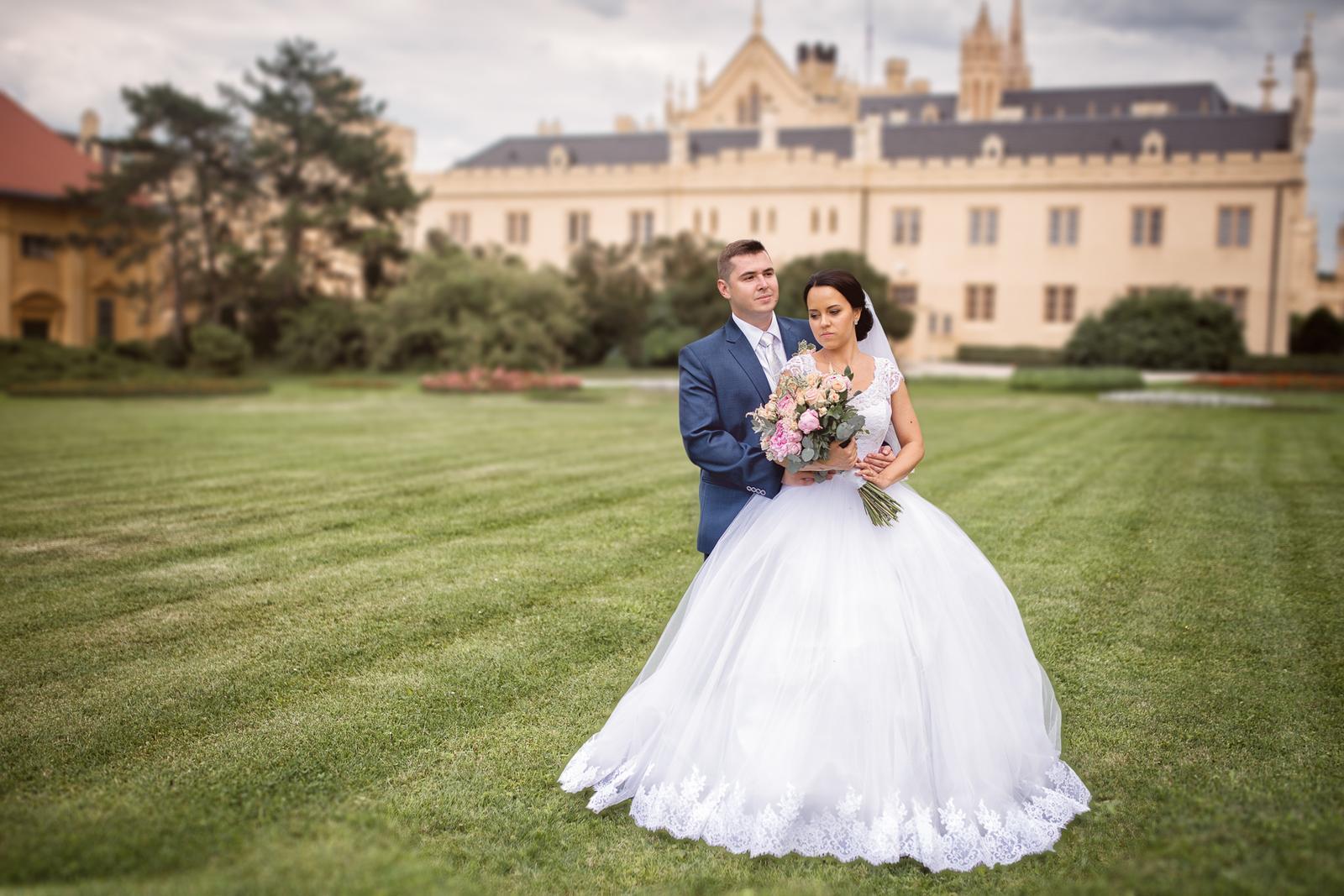 Svatební šaty Elody princess - Obrázek č. 1
