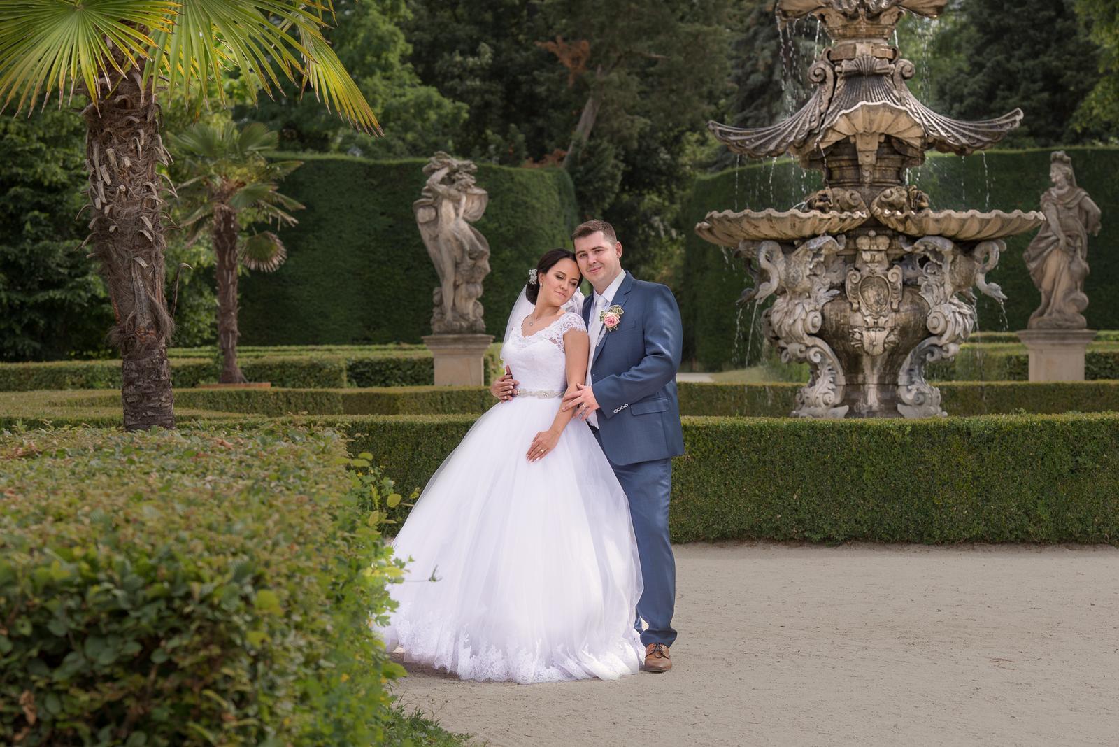 Svatební šaty Elody princess - Obrázek č. 2
