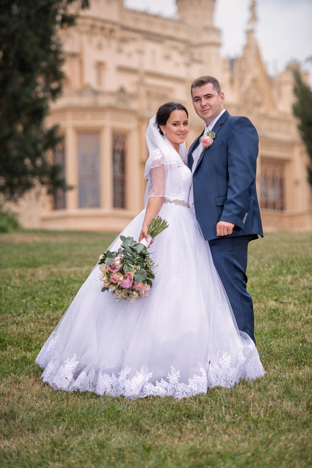 Svatební šaty Elody princess - Obrázek č. 3