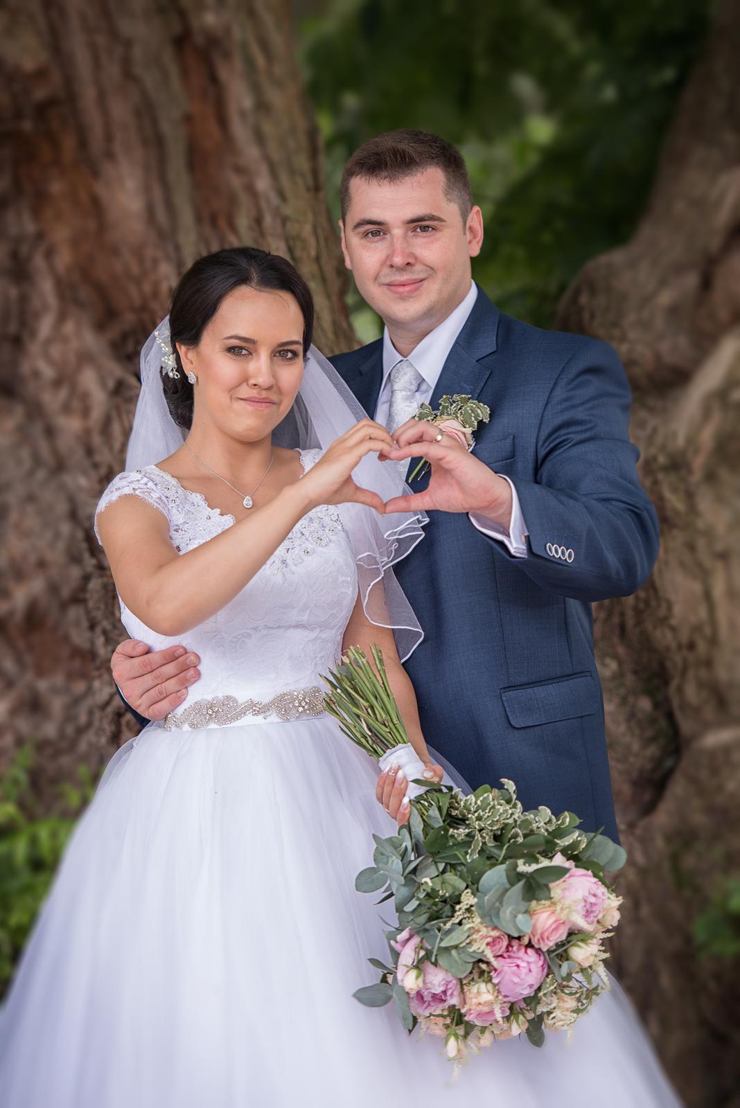 Svatební šaty Elody princess - Obrázek č. 4