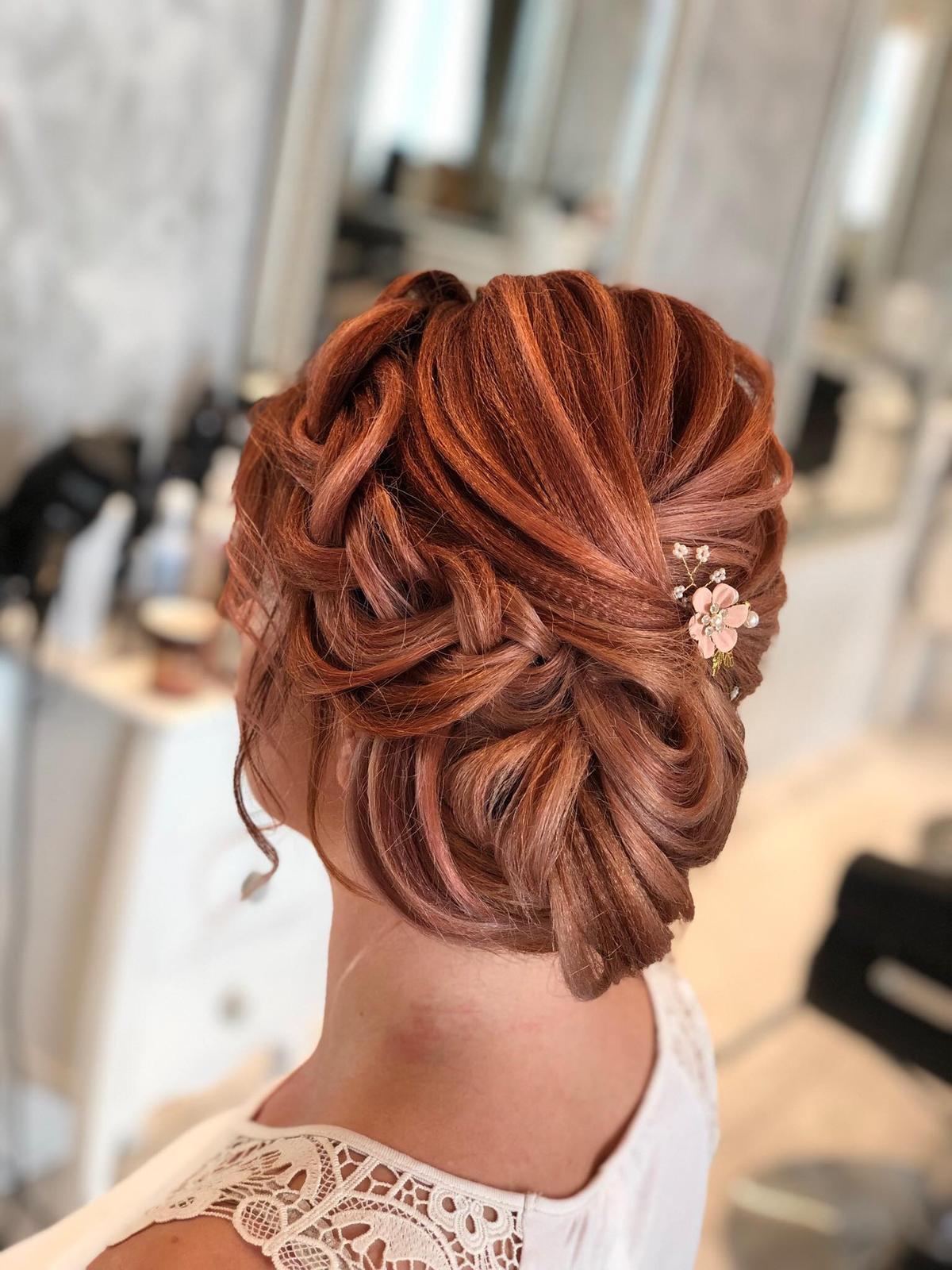 M∞P wedding ideas - skúška účesu a líčenia