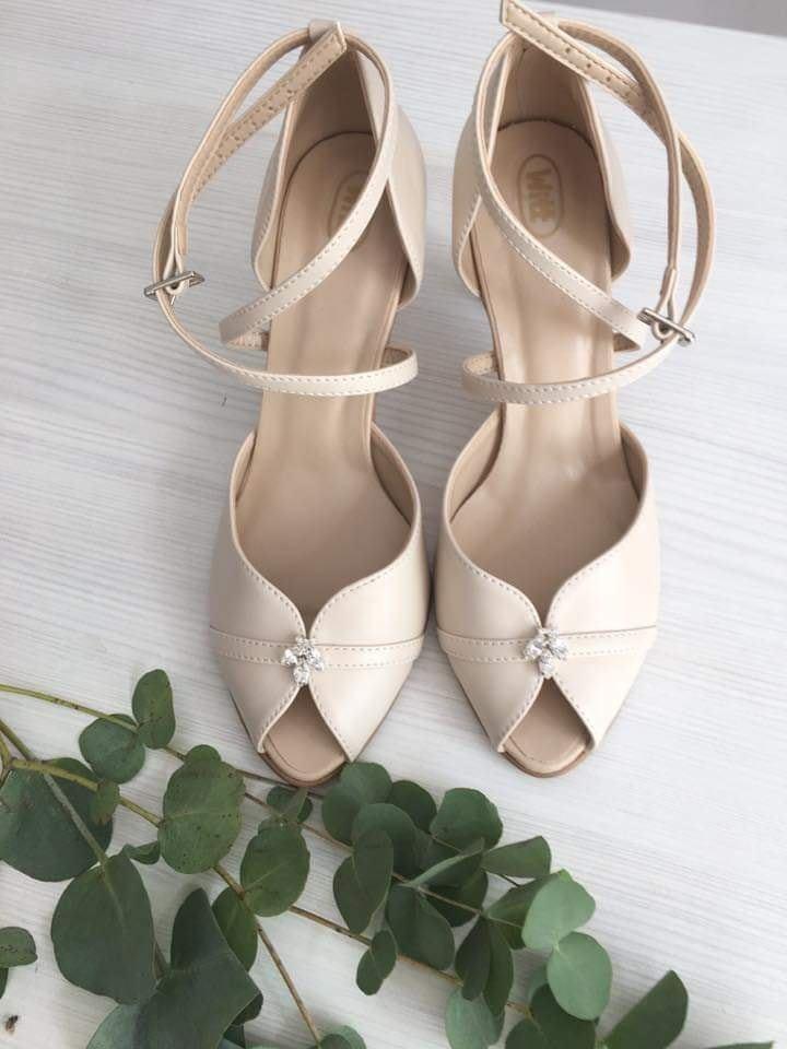 M∞P wedding ideas - nakoniec som zvolila jednoduchšie topánky, sú úplne mäkučké :)