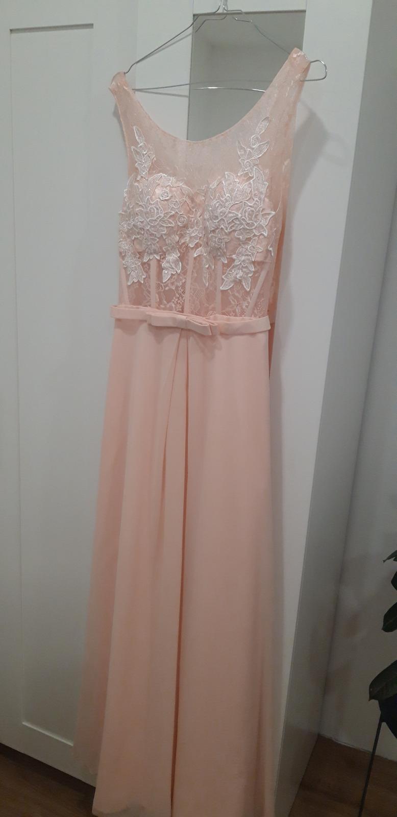 družičkovské/popolnočné šaty - Obrázok č. 1