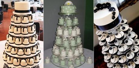 moje představa svatebních dortíků, jenom barva asi modrá nebo fialová