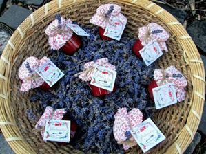 Svatební džemy FITO objednané jako výslužky pro hosty