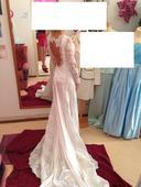 Namieru šité originálne svadobné šaty, 36