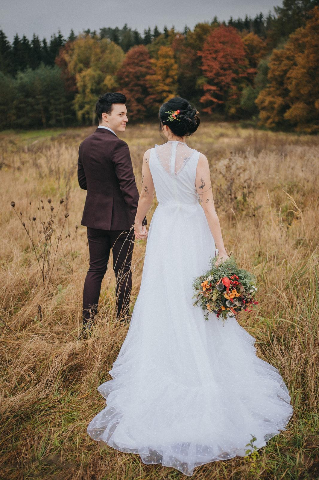 Podzimní svatební editorial - Obrázek č. 1