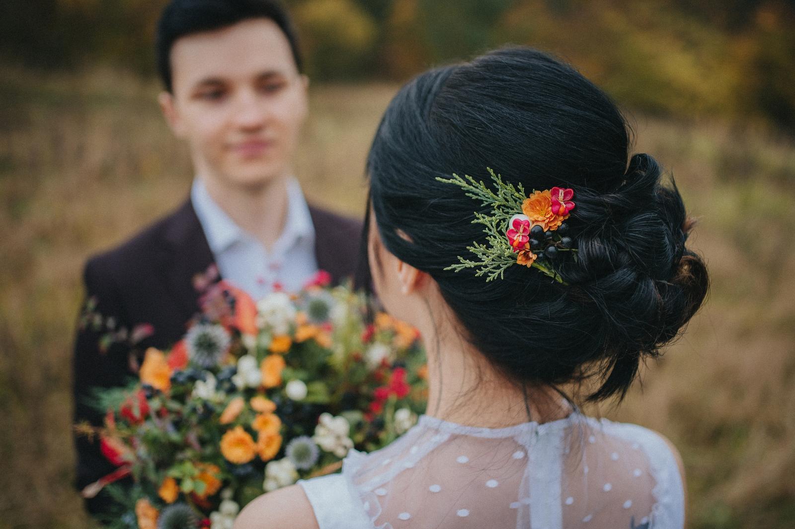 Podzimní svatební editorial - Obrázek č. 7