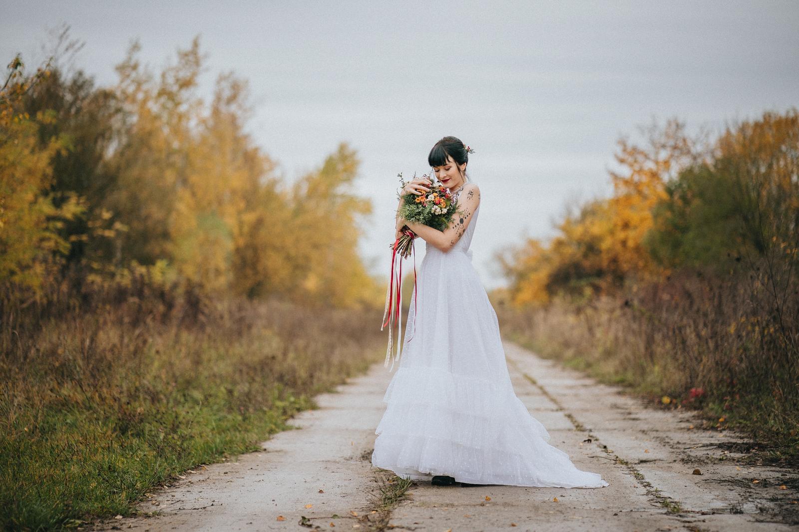 Podzimní svatební editorial - Obrázek č. 11