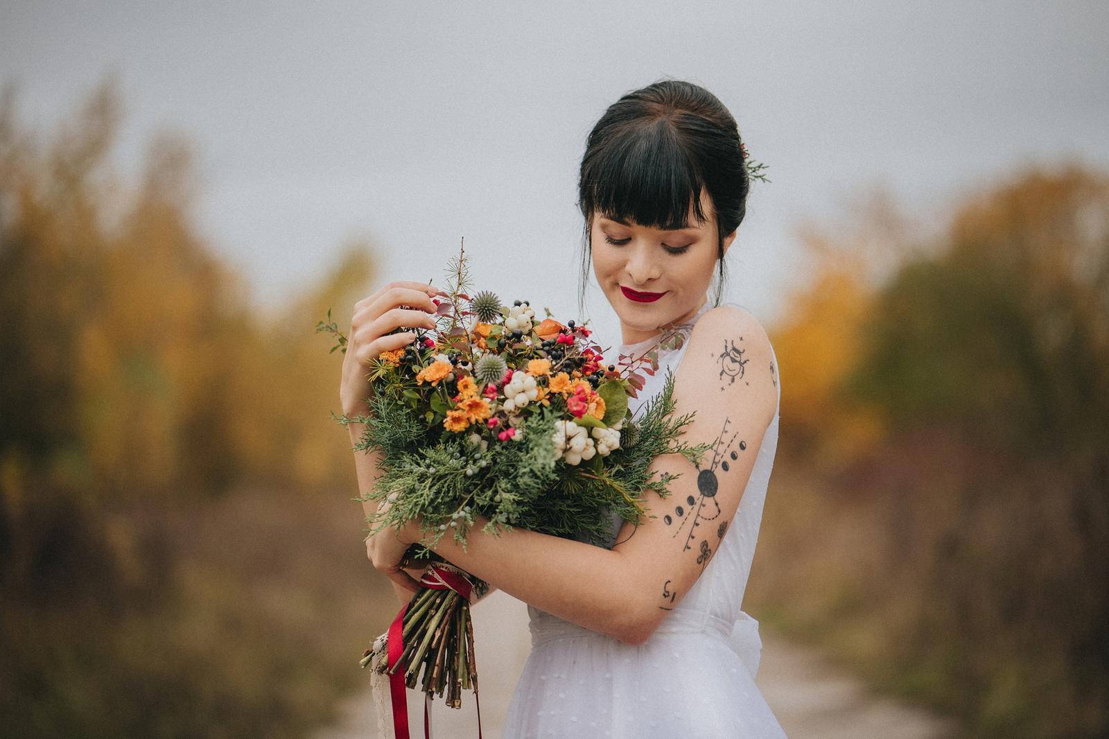 Podzimní svatební editorial - Obrázek č. 12