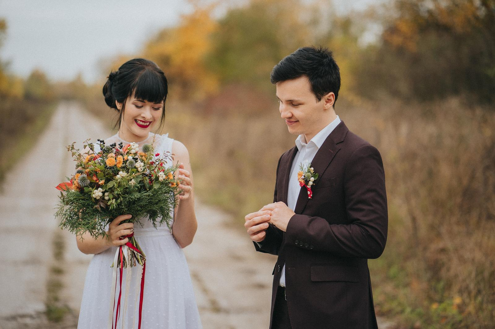 Podzimní svatební editorial - Obrázek č. 13