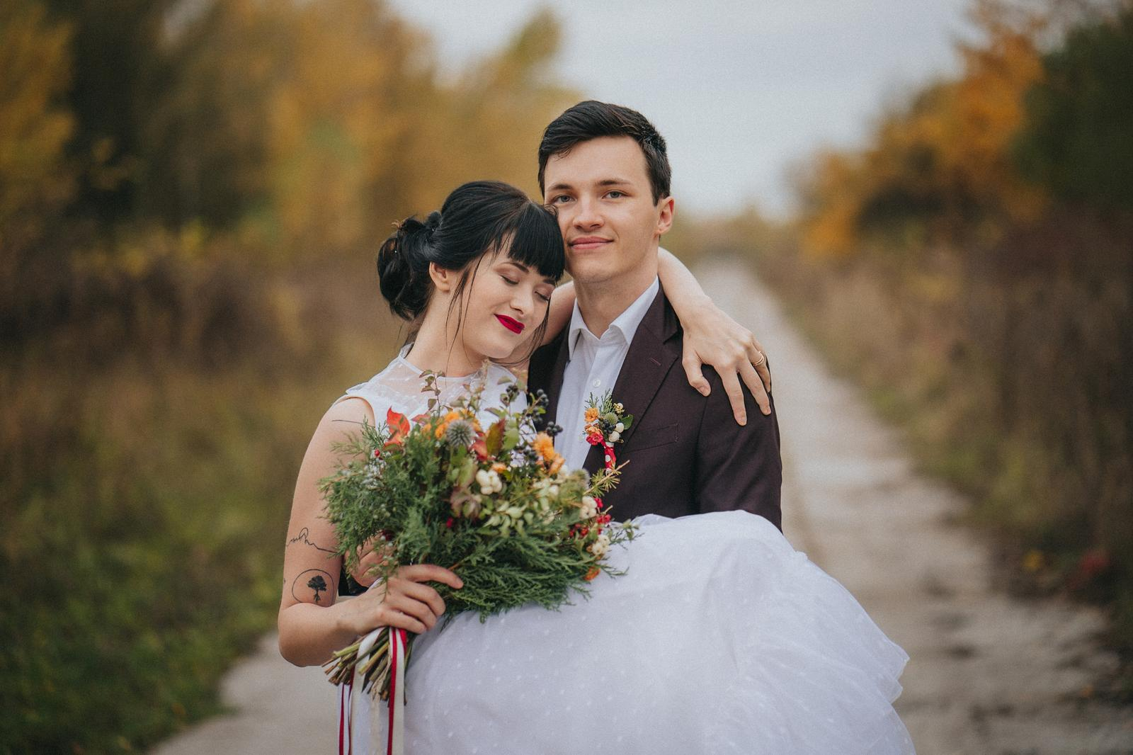 Podzimní svatební editorial - Obrázek č. 15