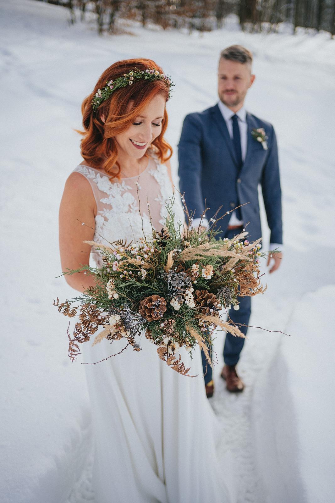 Zimní svatba M&M