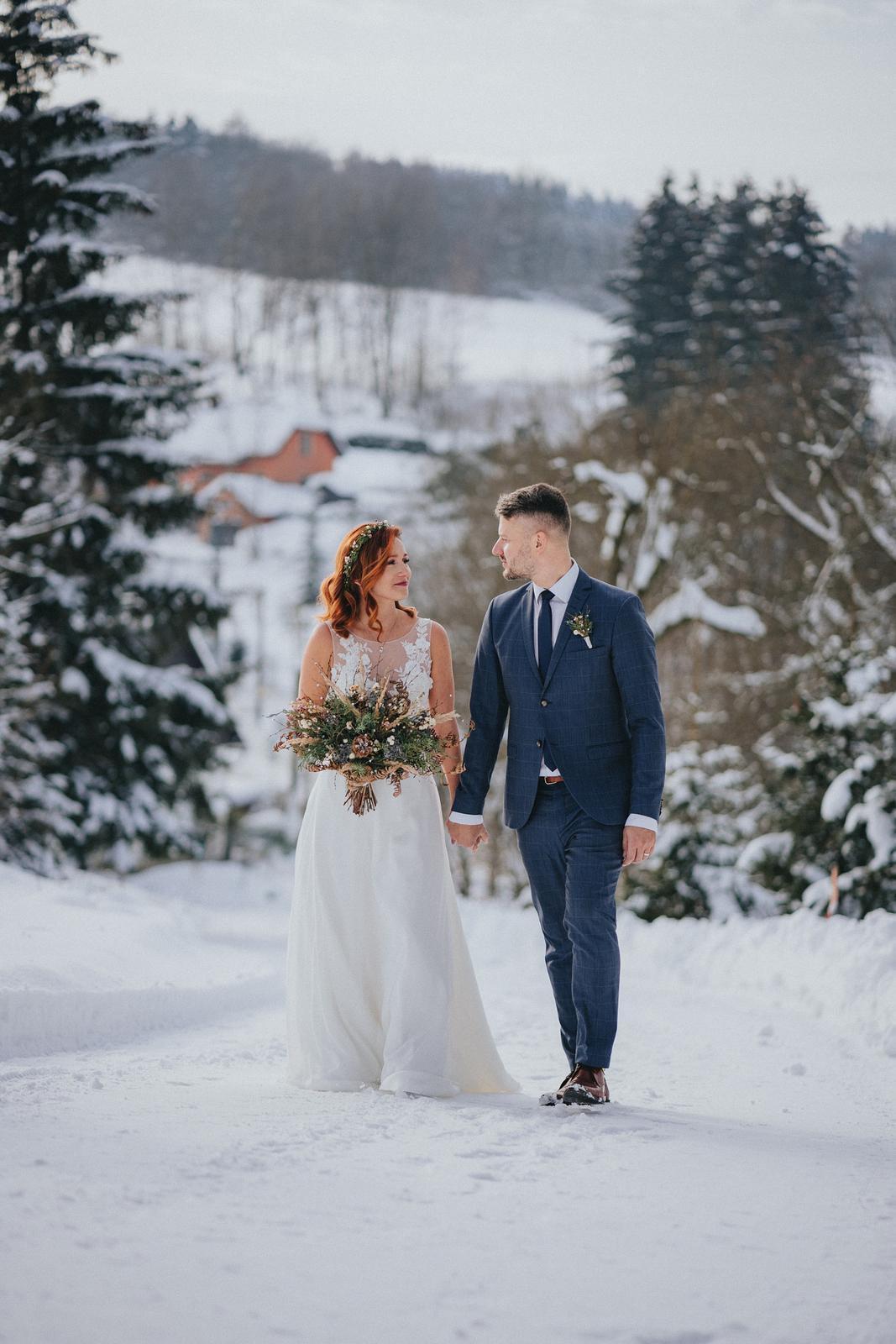 Zimní svatba M&M - Obrázek č. 3