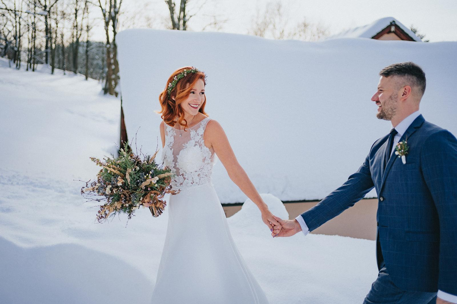 Zimní svatba M&M - Obrázek č. 5
