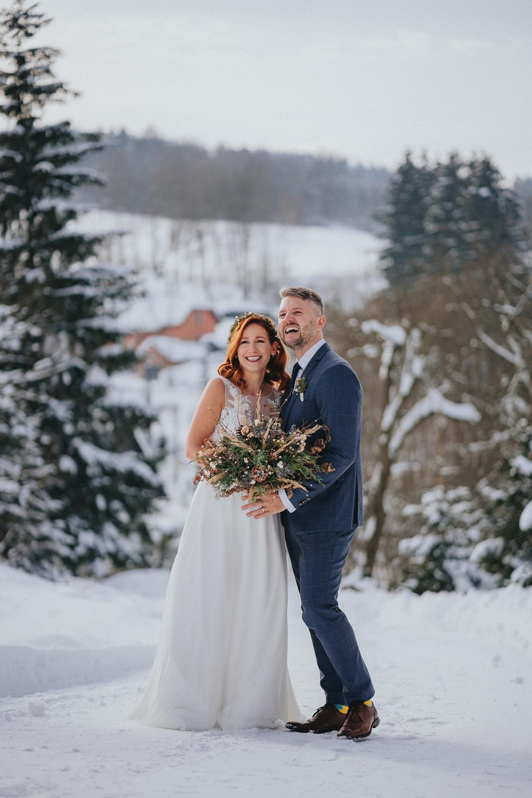 Zimní svatba M&M - Obrázek č. 6
