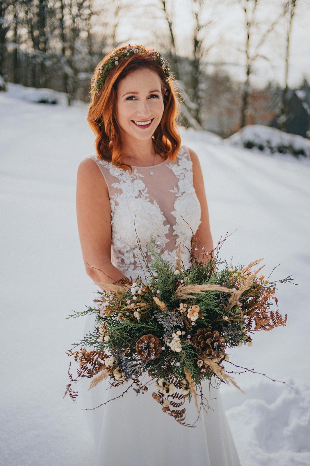 Zimní svatba M&M - Obrázek č. 9
