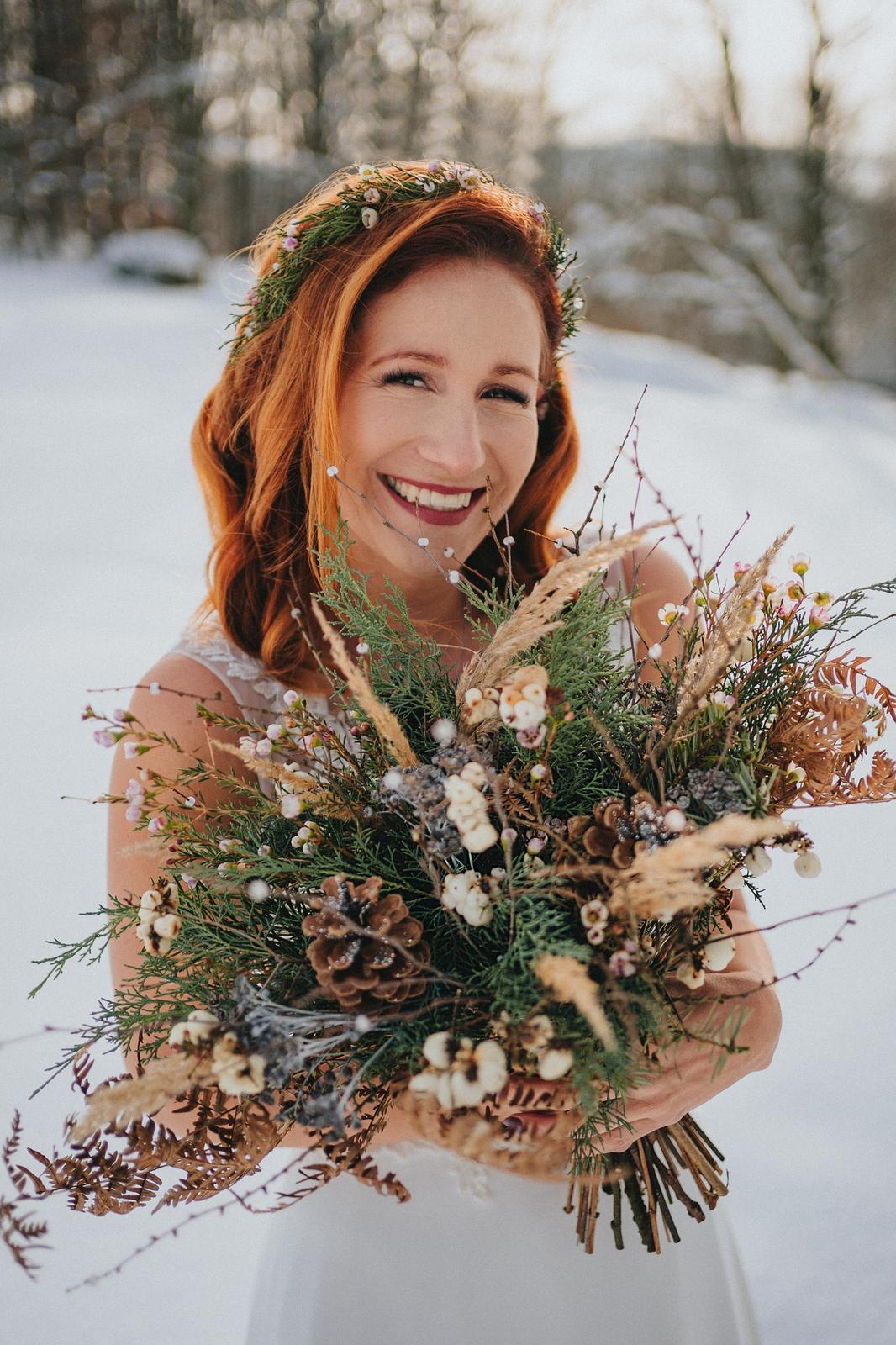 Zimní svatba M&M - Obrázek č. 10