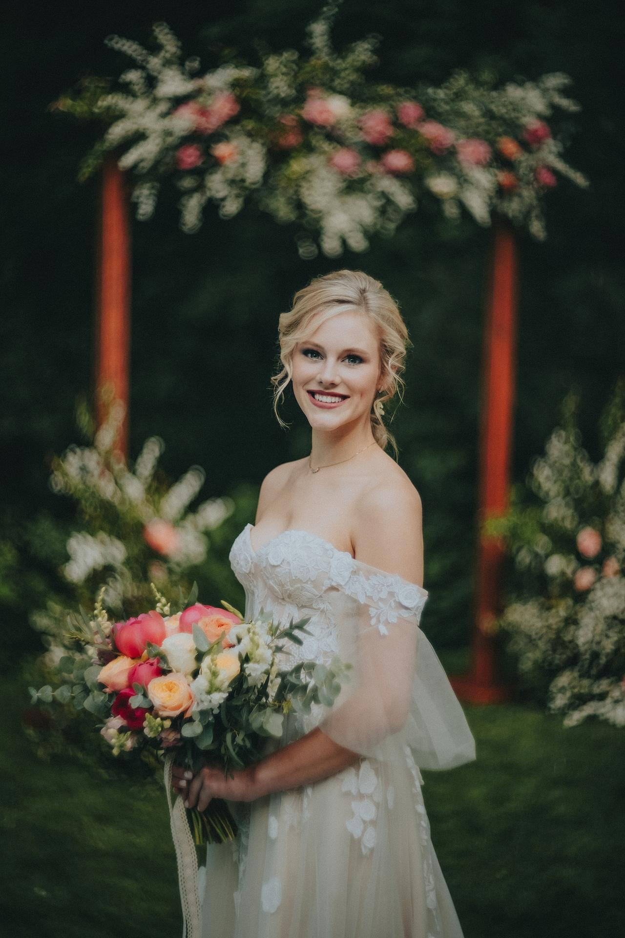 Včerejší krásná nevěsta :-) - Obrázek č. 1