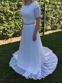 Nepoužité svatební šaty 38, 38