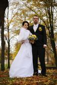 svatební perelína s kapucí,