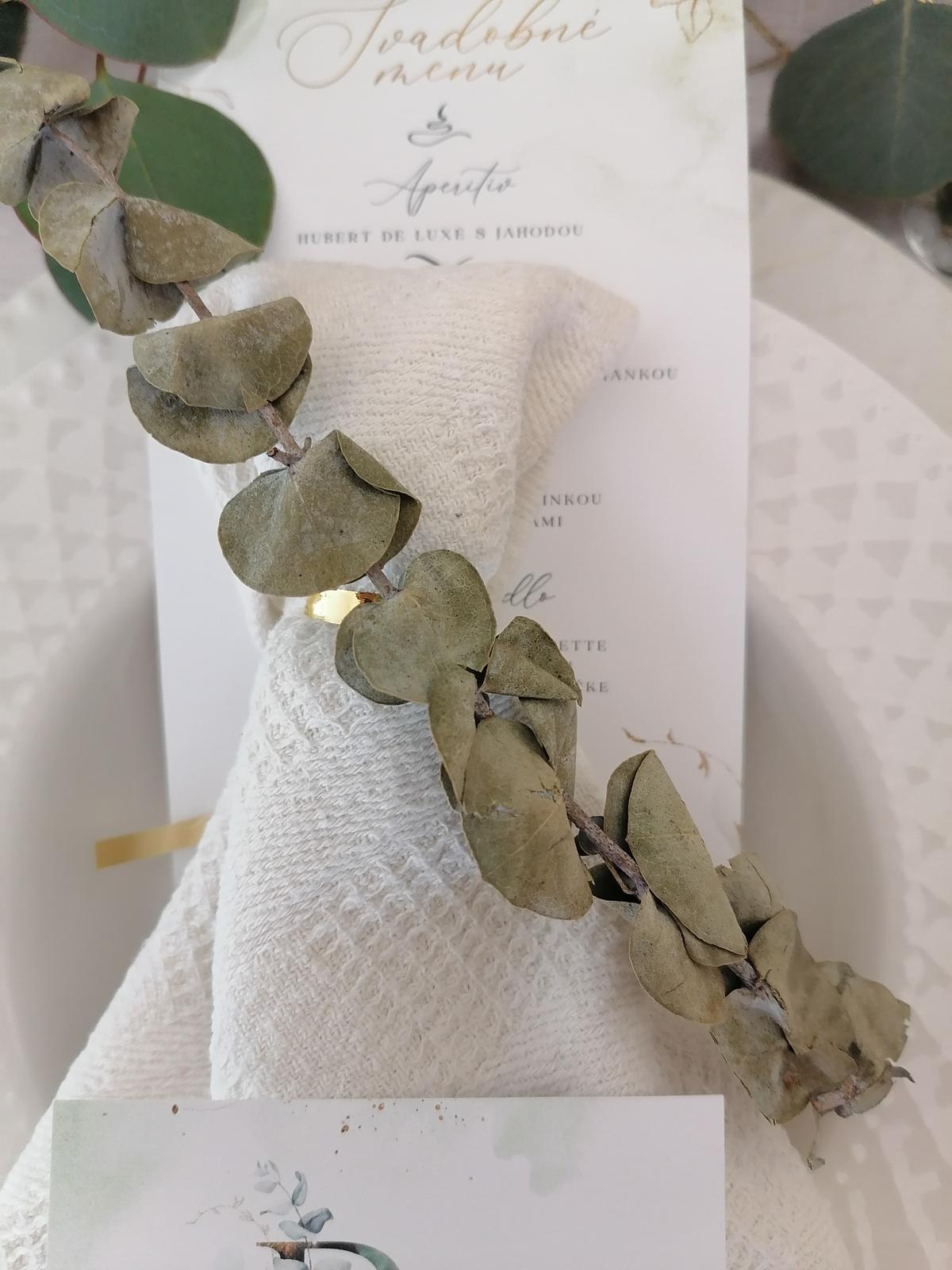 Sušený eukalyptus na svadobnú výzdobu - Obrázok č. 4