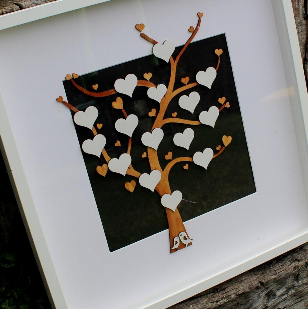 OBRAZ - SVATEBNÍ strom - podpisová kniha hostů - Obrázek č. 1