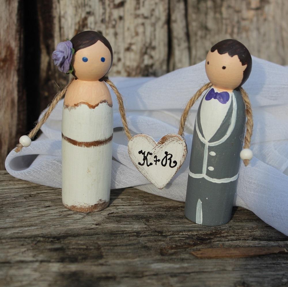 Svatební figurky KATE a ROB - Obrázek č. 1