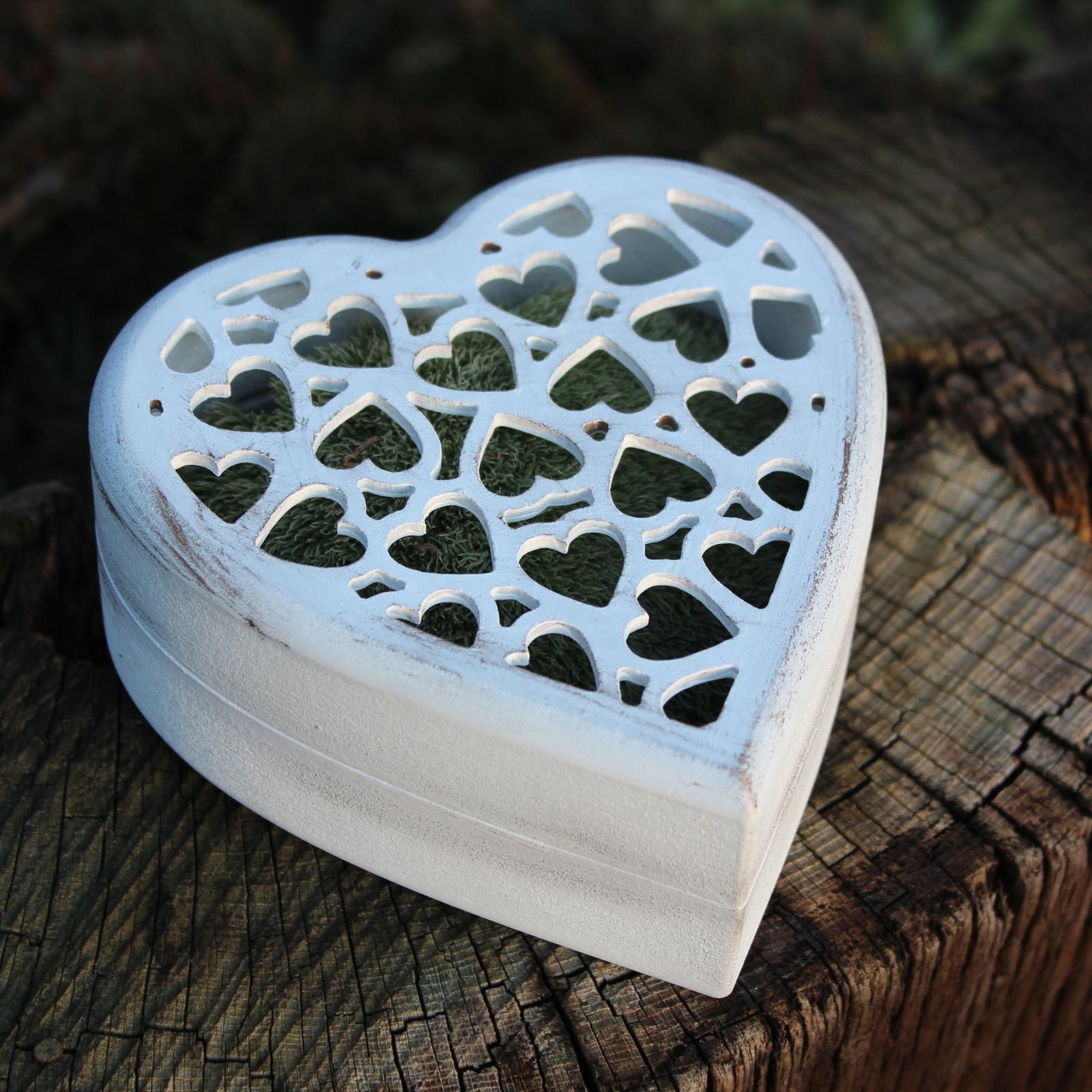 Krabička na prstýnky ROMANCE - Obrázek č. 1