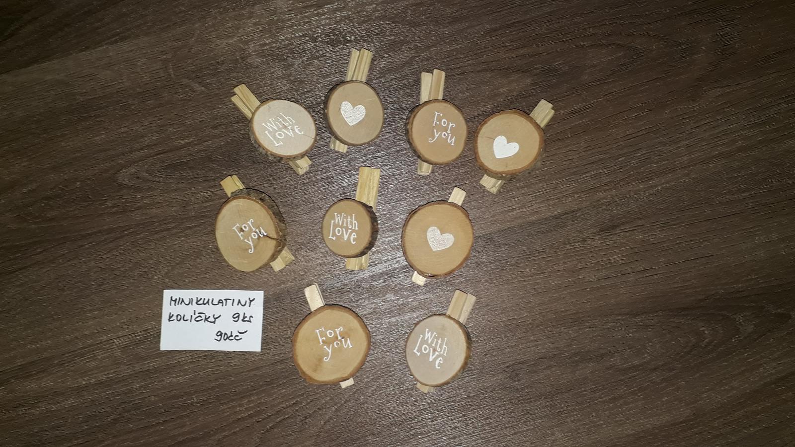 Kolíčky 9ks - Obrázek č. 2