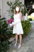 Letní svatební šaty velikost 44, 44
